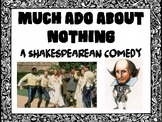 Much Ado About Nothing - A Full Unit Powerpoint (Editable)