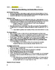 Much Ado About Nothing- Act 3 Guided Notes Handout