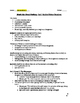 Much Ado About Nothing- Guided Notes Handouts on All 5 Acts