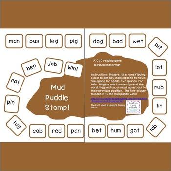 Mud Puddle Stomp!