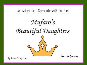 Mufaro's Beautiful Daughters ~ 26 pgs. Common Core Activities