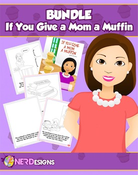Muffins with Mom- Mother's Day Book Project: If You Give a