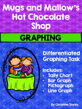 Mugs and Mallow's Hot Chocolate Shop Graphing Activities