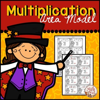 Multiplication Area Model: 2 digit by 1 digit