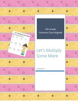 Muliplying Multi-digit numbers