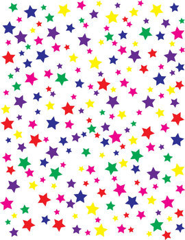 Multi Color Star Backgrounds