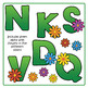 Flower Alphabet: Multi-colored Spring Flowers Clip Art