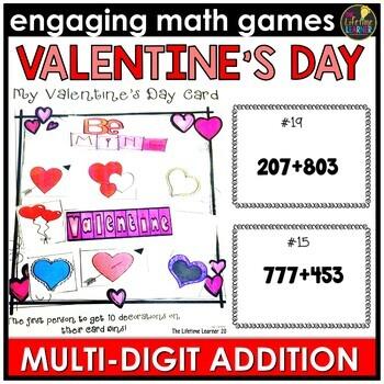 Multi-Digit Addition Game