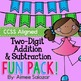 Two and Three Digit Addition and Subtraction Activities BUNDLE