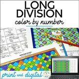 Multi-Digit Division, Winter Theme