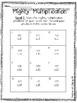 Multi-Digit Multiplication Easy Prep Activities TEKS 5.3B