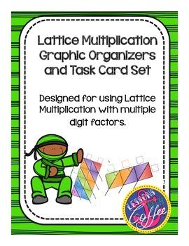 Multi-Digit Multiplication (Lattice Method) Graphic Organi