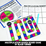 Multi-Digit Multiplication Mania Game: 4th Grade Math Cent