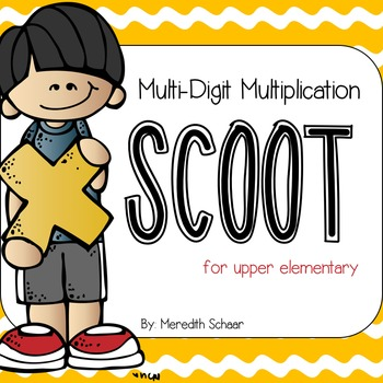 Multi-Digit Multiplication Scoot