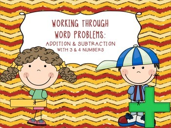 Multi-Digit Word Problems Task Cards {Addition & Subtraction}