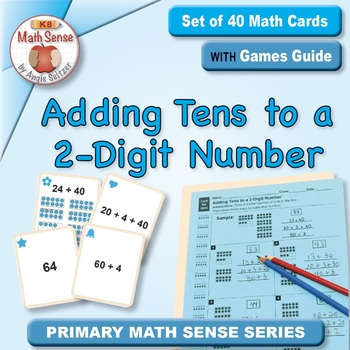 Multi-Match Game Cards 1B: Adding Tens to a 2-Digit Number