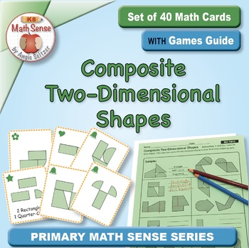 Multi-Match Game Cards 1G: Composite Two-Dimensional Shapes