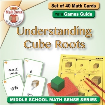 Multi-Match Game Cards 8E: Understanding Cube Roots