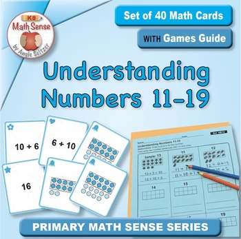 Multi-Match Game Cards KB: Understanding Numbers 11-19