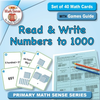 Multi-Match Game Cards 2B: Read & Write Numbers to 1000