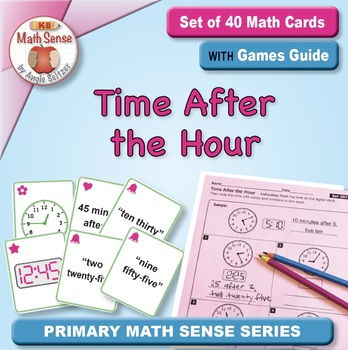 Multi-Match Game Cards 2M: Time After the Hour