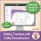 Multi-Match Game Cards 5F: Adding Fractions with Unlike De