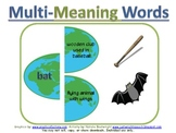 Multi-Meaning Words Earth Day