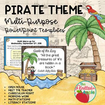 Pirate Theme PowerPoint Templates