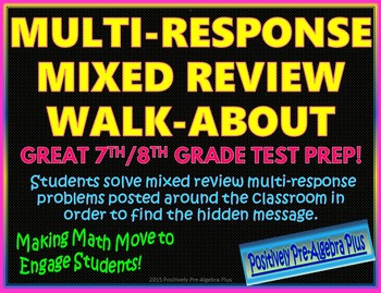 Multi-Response Mixed Review Walk-About Activity