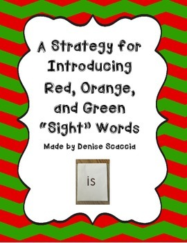 Multi-Sensory Approach to Introducing Sight Words