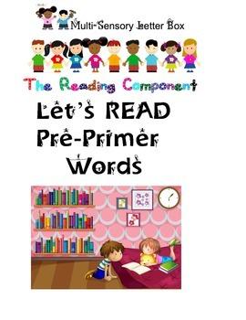 Pre-Primer Words:  A Multi-Sensory Approach