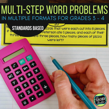 Multi-Step Word Problem Collection: Grade 3-4