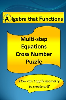 Multi-Step Cross Number Puzzle with Worked Out Solutions
