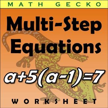 #126 - Multi-Step Equation Maze