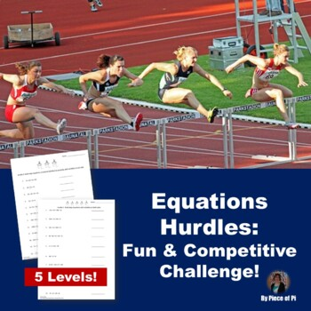 Multi-Step Equations Hurdles Activity