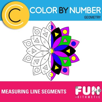 Measuring Line Segments Color by Number