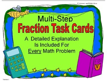 Multi-Step Fraction Word Problems