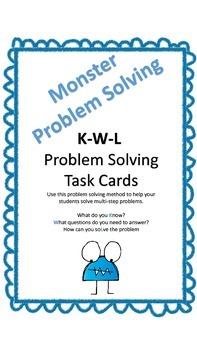 Multi-Step Math Task Cards