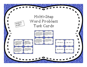 Multi-Step / Order of Operation Differentiated Word Proble
