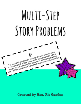 Multi-Step Story Problems (Addition & Subtraction)