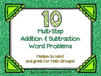Multi-Step Word Problems + -