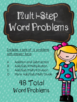 Multi Step Word Problems