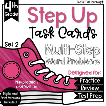 Multi-Step Word Problems Multiplication & Division Task Ca
