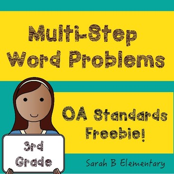 Multi-Step Word Problems (OA)