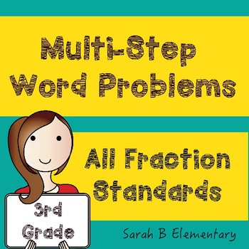 Multi-Step Word Problems (Fractions)