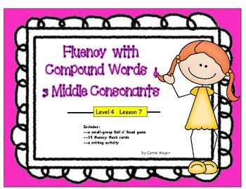 Multi-Syllabic Word Fluency: Compounds & 3 Middle Consonan