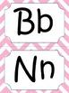Multi-colored Chevron Alphabet