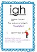 Spalding & LEM phonics Multi letter phonogram posters with