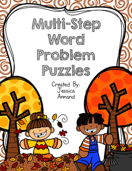 Multi-step Word Problem Puzzles