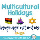 Multicultural December Holidays Learning Packet